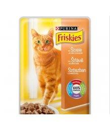 Friskies macskaeledel 100g/85g csirkés