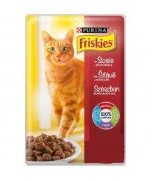 Friskies macskaeledel 85g marhahúsos
