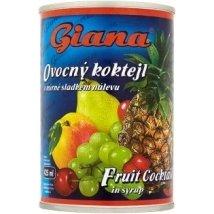 Giana gyümölcskoktél 410/250g