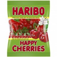Haribo gumicukor 100g Happy Cherries