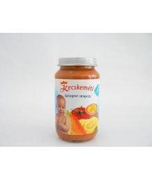 Kecskeméti bébiétel 220g bolognai spagetti (8 hó)