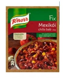 Knorr alap 50g mexikói chilis bab