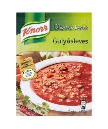 Knorr por leves 67g gulyás telis tele