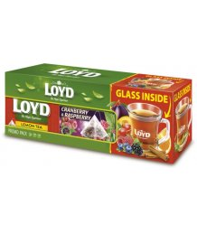 Loys tea box 2 x 20 x 2g + pohár