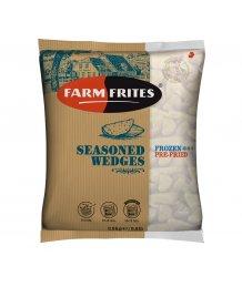 Farm Frites mirelit fûszeres burgonya gerezd 2,5kg