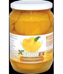 Foodex õszibarack befõtt hámozott felezett 340g 720ml