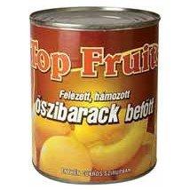 Top Fruit õszibarack konzerv 470gTT