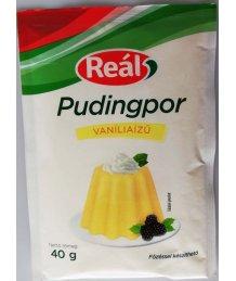 Reál pudingpor 40g vanilia