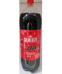 Queen szénsavas üdítõital 2,5l cola ízû