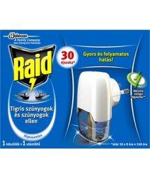 Raid elektromos szúnyogriasztó 30éj