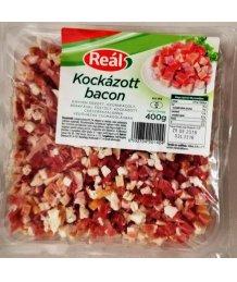 Reál kockázott bacon 400g