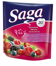 Saga tea 20 filter erdei gyümölcs