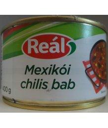 Reál készétel 400g mexikói chilis bab