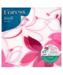Sofidel Forest Szofi mintás szalvéta 33 x 33mm 1 rétegû 45db