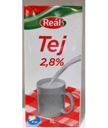 Reál UHT tej 2,8% 1l dobozos