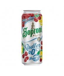 Soproni Radler meggy-citrom alkoholmentes sörital 0,0% 0,5l