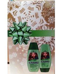Ajándékcsomag - Schauma sampon + bazsam 7 gyógynövényes