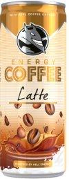 Hell Energy Coffee Latte 250ml kávés tejital