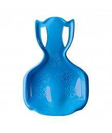 Gyerek műanyag hócsúszka popsi szánkó BAYO COMFORT LINE XL kék