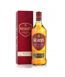 Grants whisky 40% 0,7l+2db pohár díszdobozos