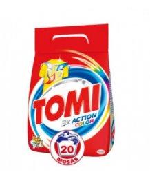 Tomi mosópor 1,4kg (20 mosás) Color