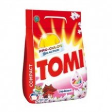 Tomi mosópor 1,4kg (20 mosás) Japánkert Color