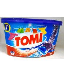 Tomi mosókapszula 15db color