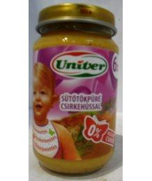 Univer bébiétel 163g sütõtök csirke ( 6 hónapos kortól )