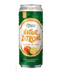 Gösser Natur Zitrone mangó-citrom ízû alkoholm.sör 0,5l dob.