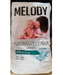 Reál Melody pelenka 32db midi 4-9kg