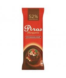 Piros mogyorós csokoládé 80g ét