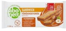 Abonett sandwich szelet 26g törökmogyorós GLUTÉNMENTES