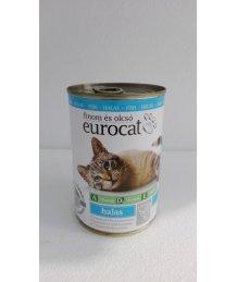 Eurocat macska konzerv 415g hal