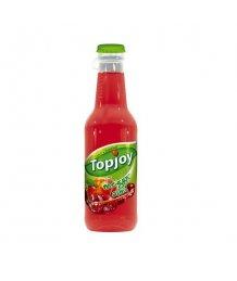 Topjoy 0,25l meggy-alma 20% üveges