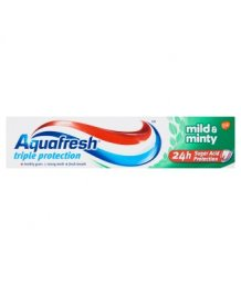 Aquafresh fogkrém 100ml mild