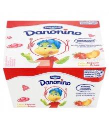 Danonino 4*50g eper-sárgabarack