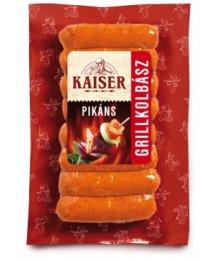 Kaiser grillkolbász 190g pikáns