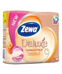 Zewa Deluxe toalettpapír 3 réteg 4 tekercs Cashmere Peach