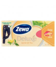 Zewa Deluxe papír zsebkendõ 3 rétegû 90db spirit of tea