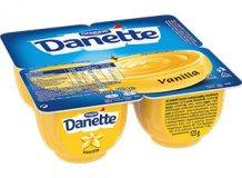 Danone Danette puding 4 x 125g vanilia