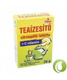 Haas teaízesítõ tabletta C-vitaminnal 26g