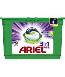Ariel mosókapszula 14db Color Style