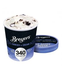 Breyers 500ml cookie and cream