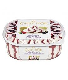Carte d'Or Gelateria jégkrém 900 ml joghurt-erdei gyümölcs