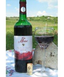 Egri Merlot félédes vörösbor 0,75l +üv