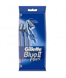 Gillette Blue II Plus eldobható borotva 5db