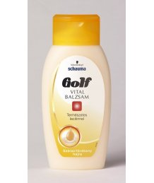 Golf balzsam száraz, vékony hajra