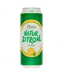Gösser Natur Zitrone citrom ízû alkoholm.sör 0,5l dobozos
