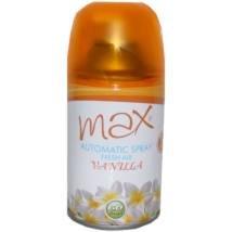 Max aeroszolos légfrissítõ utántöltõ 260ml vanilia