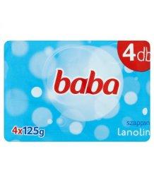 Baba szappan 4*125g lanolinos